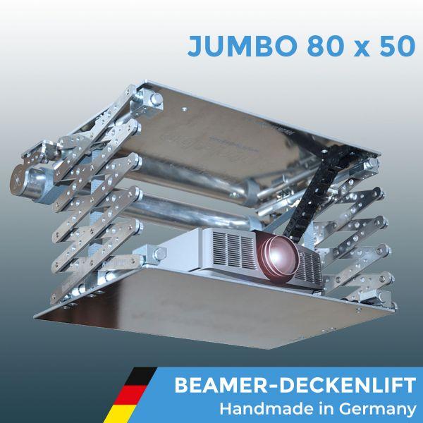 "Beamerlift Deckenlift Projektorlift ""JUMBO 80 x 50 Reihe"" X-Lift"