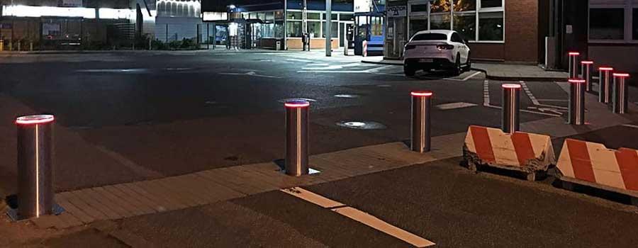 parkplatzsicherung