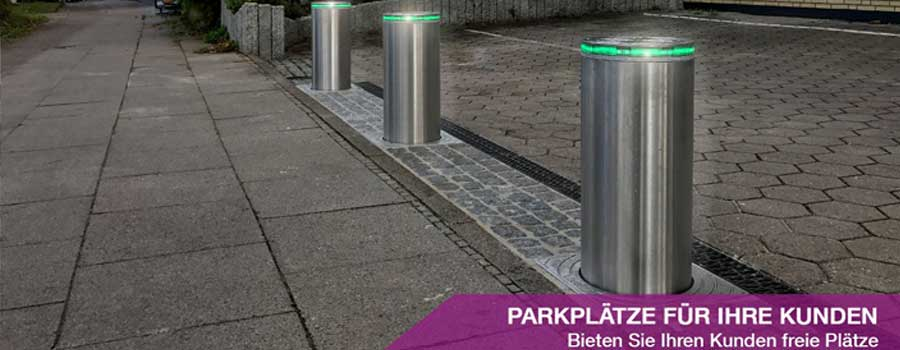 Parkplatz Poller